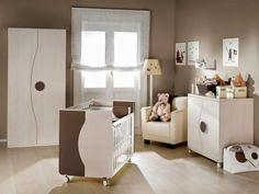 Virlova Interiorismo: [Decotips] Color chocolate para la habitación del bebé