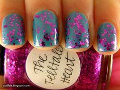 #nails #nail_polish #nail_art #glitter
