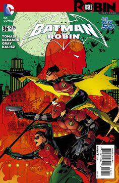 Batman and Robin #36 by Patrick Gleason