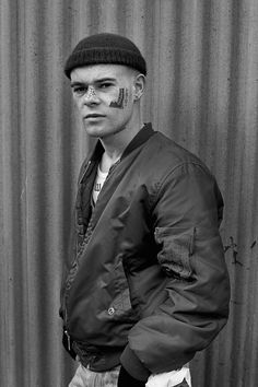 Gritty Pictures Of Britain's Skinheads From The 1980s, skinhead, bomber jacket,