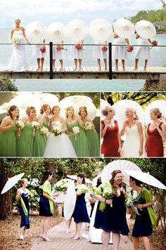 White wedding parasols - gorgeous in photographs! We love our parasols at Light a Lantern. Available in all white at R50 per parasol. Buy online today - http://www.lightalantern.co.za/collections/decor/products/white-nylon-parasols #wedding #parasols