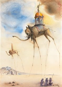 Elephant Spatiaux by Salvador Dalí