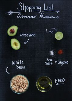 Avocado Hummos @Nathan Dettman this reminds me of your House Cafe concoction!