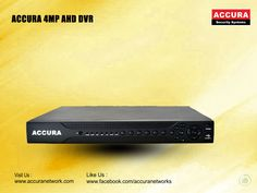 New Accura 4MP AHD DVR  Find at : @accuranetworks #Accura #4MP #AHD #DVR
