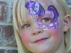 My little pony - face paint When my daughter would discover this one I would know what to do next.
