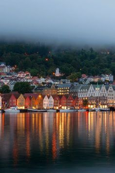 Bergen, Hordaland, west coast of Norway. I fell completely head over heels in love with Bergen! Places Around The World, Oh The Places You'll Go, Travel Around The World, Places To Travel, Travel Destinations, Places To Visit, Around The Worlds, Hidden Places, Beautiful Places In The World