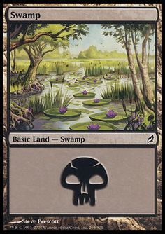 Swamp (4) ($.00) Price History from major stores - Lorwyn - MTGPrice.com Values for Ebay, Amazon and hobby stores!