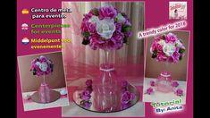 Centro de mesa para eventos  / Centerpiece for events / Middelpunt voor ...