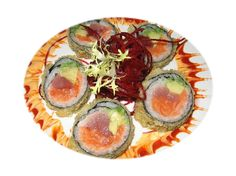 Sushi sushi! I am just really undesirable in the least you can feed on sushi. I wimp out there right after two rolls and is particularly caught concluding that in my situation. sushi rolls #gourmet #food