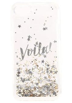 kate spade new york VOILA - Etui na telefon - gold/clear - Zalando.pl