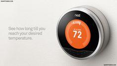 The Nest, el termostato inteligente.    #hogar #tecnologia #gadgets