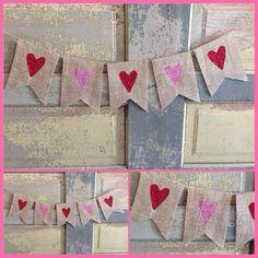 Happy valentine day / valentines day banner / by CuterThanWords, $17.50
