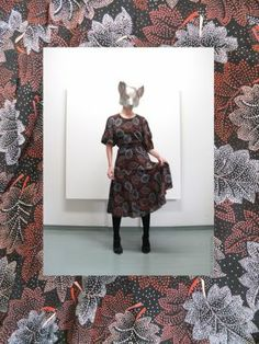 Image of floral print day dress Clothing Photography, Day Dresses, Vintage Outfits, Floral Prints, Foxes, Frame, Inspiration, Home Decor, Fashion