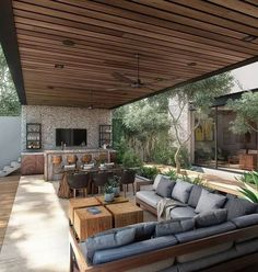 79 Gorgeous Outdoor Rooms Will Inspire Your Summer Entertaining #outdordesigns #housedesign #outdorroom > Fieltro.Net