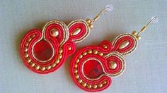 Badi / soutache náušnice Drop Earrings, Jewelry, Jewlery, Jewerly, Schmuck, Drop Earring, Jewels, Jewelery, Fine Jewelry