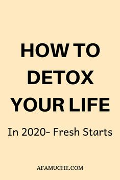 The need to detoxify your life is a direct result of an overworked, overscheduled and overwhelmed lifestyle. It's important to detox and declutter your mind and soul to maintain a healthy and happy life. Self Development, Personal Development, Better Life, Feel Better, Declutter Your Mind, Survival Life Hacks, Detoxify Your Body, Self Care Activities, Physically And Mentally