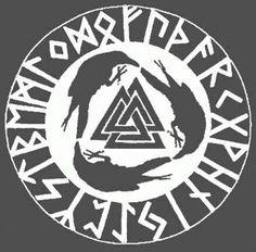 The Valknut - followers of Odin