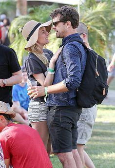 Diane Kruger and Joshua Jackson at Coachella
