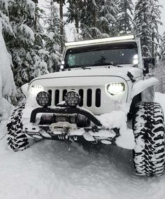 "Jeep Wranglers ""Winter is coming Jeep Cj, Jeep Truck, Jeep Baby, White Jeep, Badass Jeep, Jeep Wrangler Unlimited, Wrangler Jeep, K Wallpaper, Automotive Group"