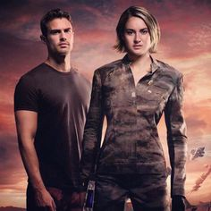 Allegiant! Wow, Tris and Four look fierce!