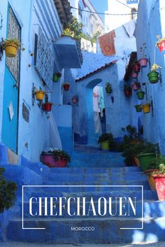 Whilst checking out Morocco's third largest city Fes, we managed to do a day trip to the nearby city of Chefchaouen which is located beautifully high up in the Rif Mountains. There was only one reason we wanted to come here and this was to check out the buildings which are all painted in shades of white and blue which makes it a very popular destination for photographers and those who want to get beautiful shots.