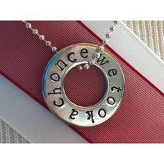 We Took A Chonce Necklace Niall Horan, One Direction, 1D Necklace,... ($8) ❤ liked on Polyvore featuring jewelry, hand stamped jewelry and pendant jewelry