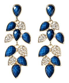 Another great find on #zulily! Amrita Singh Blue Lapis & Crystal Milly Drop Earrings by Amrita Singh #zulilyfinds