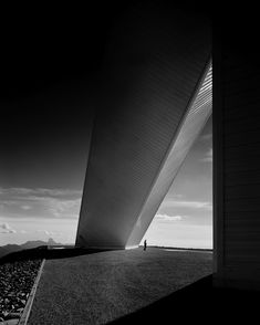 mcmath solar telescope - kitt peak arizone - skidmore owings + merrill - photo by ezra stoller