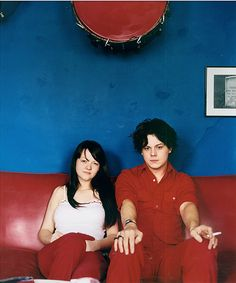 A Young Jack and Meg White.