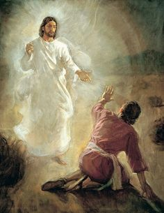 Christ appears to Paul on the road~HE IS NO PROPHET ~ HE IS AND WAS AND IS TO COME ~ THE MESSIAH ~