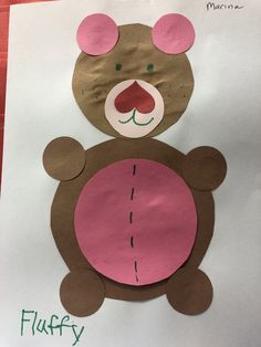 Have fun with circles by making this adorable teddy bear craft for preschoolers