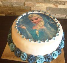Schneekönigin-Torte Birthday Cake, Desserts, Food, Company Logo, Fiction, Tailgate Desserts, Deserts, Birthday Cakes, Essen