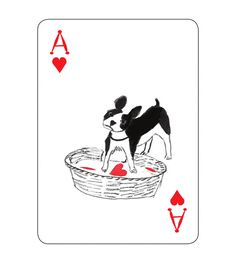 People say they love dogs all the time, but does it really mean anything if you don't have dog-themed playing cards?  #dog #playing #cards