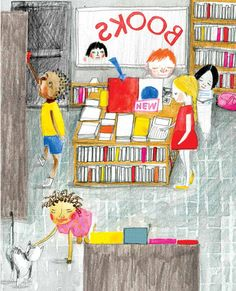 The Jacket: A Sweet Illustrated Meta-Story about How We Fall in Love With Books | Brain Pickings