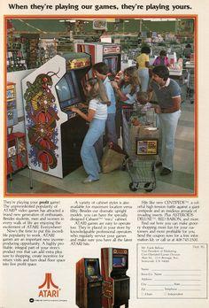 Atari Arcade in Supermarkets