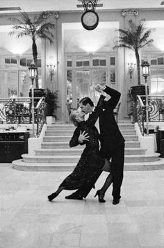 Aahh, those Sunday afternoon tea dances at the Waldorf. What a shame that that's history now.