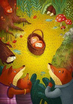 Laura Wood - professional children's illustrator, view portfolio