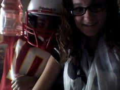 Lol my little brothers best friend. They are so ready for football practice