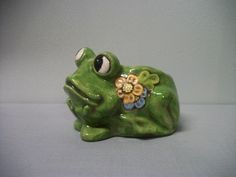 Frog+Planter+for+Home+or+Garden+READY+TO+SHIP+by+TLCCeramicsIL,+$22.00