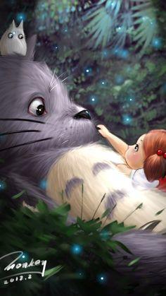 Plv - affiche mon voisin totoro - hayao miyazaki mignon japon an Diamond Painting, Cute Art, Animation, Japanese Animation, Art, Cartoon, Vintage Posters, Anime Movies, Ghibli Art