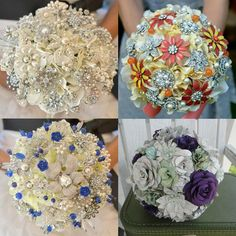 9 Unique Ideas for Wedding Day Style: Go Faux with Your Bouquet.