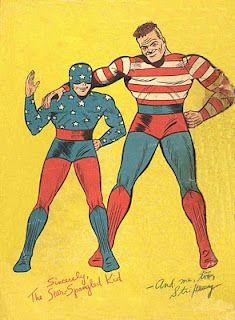 The Star-Spangled Kid and Stripesy