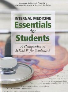 Internal Medicine Essentials for Students: A Companion to MKSAP® for Students Medicine Book, Internal Medicine, Pharmacy Books, Book Club Books, Book Clubs, Problem Based Learning, Science Books, Student Learning, Curriculum