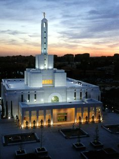 Madrid Spain Temple of The Church of Jesus Christ of Latter-day Saints. #lds #mormon