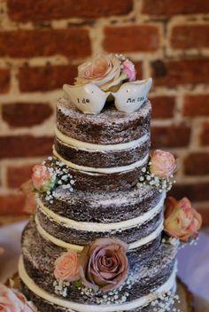 Naked wedding cake Archives - Little Bear Cakery