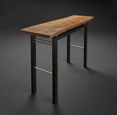 Breeze by Carol Jackson: Wood and Metal Console Table available at www.artfulhome.com