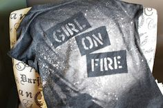 Better Than We Deserve: Girl on Fire - Young Womens Girls Camp- great camp ideas and activities Tie Dye Party, Bleach T Shirts, Young Women Activities, Youth Activities, Faith Walk, Girls Camp, Diy Shirt, Our Girl, Diy Clothes