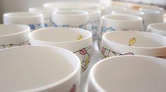 This weekend's work, 30 leaf tea bowls decorated and going into a glaze firing … Going to reward this couch potato with the new season premiere of the Walking Dead tonight!   #workinprogress #inthestudio #clay #ceramics #ceramicist #ceramicart #ceramicartist #pottery #art #artist #artoftheday #handmade #handmadwithlove #handmadeinaustralia #creative #create #porcelain #stoneware #homewares #teacups #teabowls #contemporaryceramics #wheelthrown  #wheelthrownceramics #australianceramics