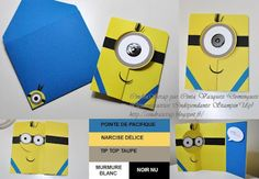 Carte Minions' Card Stampin'Up!