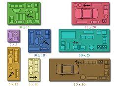 self storage unit sizes